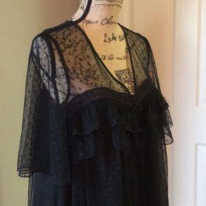 ♠️♥️🔥Sexy black lace cocktail dress
